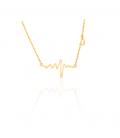 Halskette Heartbeat