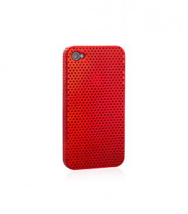 """iPhone 4 4S Hartschalenhülle Backcover """"Gitter"""""""