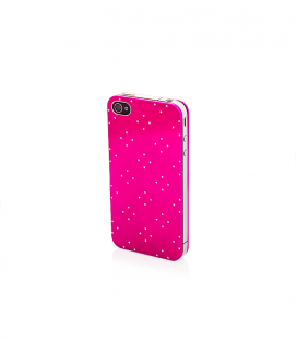 "iPhone 4 4S Hülle Full Body Cover ""Alu Dots"""
