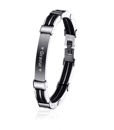 Armband Gravurarmband Silikon
