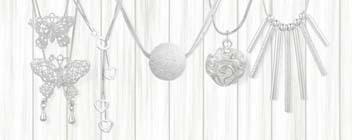 Faszination Silber - Schmuck und Modeschmuck im Silberton