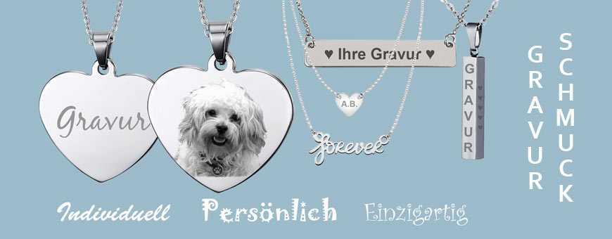 Gravur-Schmuck